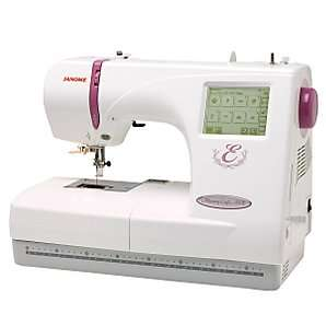 Buy Janome Memory Craft 350E Embroidery Machine online at JohnLewis