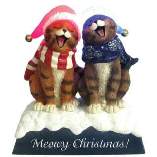 13544   Meowy Christmas Lighted Cat (Holly Jollies)