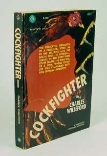 Cockfighter by Charles Willeford~ 1st/1st Edition (1962)