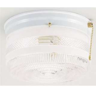 Westinghouse 67345 2 Light Ceiling Fixture with Pull Chain Featuring