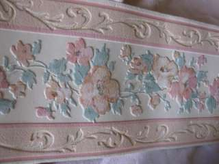 SHAND KYDD PINKY PEACH WALLPAPER BORDERS BN