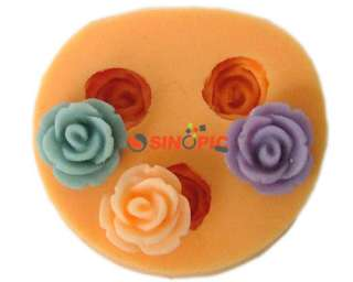 3PCS Silicone Molds Cake Flower Fondant DIY Tool Supply