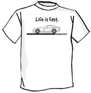1996 03 Dodge Viper GTS Muscle Car Cartoon Tshirt