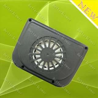Via USPS New Solar Powered Car Auto Air Vent Cooling Cool Cooler Fan