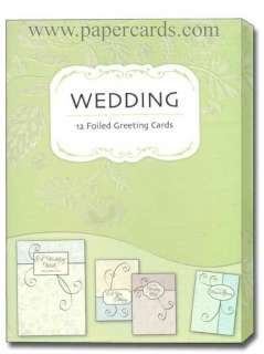 Loves Journey Wedding Greeting Cards Box of 12