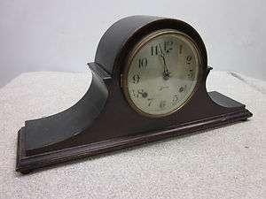 Antique Sessions Mantle Clock w/Key 21x9.5x4.75deep