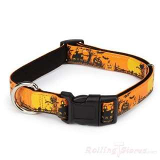 CASUAL CANINE DOG SPOOKY NIGHT HALLOWEEN COLLAR