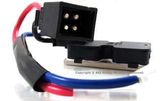 Benz W140 AC Heater Blower Resistor Regulator Control Climate Assembly