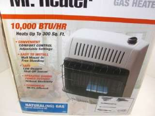 Mr Heater 10000 BTU Natural Gas Blue Flame Vent Free Heater