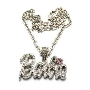 Nicki Minaj Barbie Pendant with a 20 Inch Link Necklace Chain Jewelry