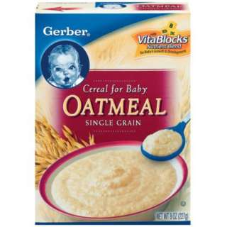 Gerber Oatmeal Cereal   8 ozOpens in a new window