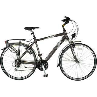 Bicycle, Adult Trekking Bike, Front Suspension Bicycle, Gray Bicycle
