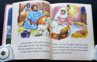 STORIES OF THE CHRIST CHILD Mary Alice Jones vintage Rand McNally ELF