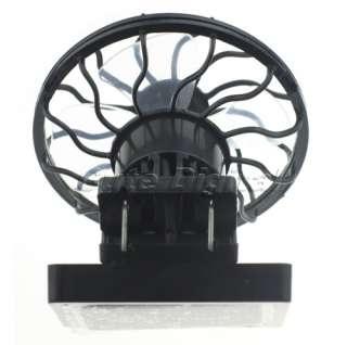 Mini Clip Solar Cell Fan Sun Power Panel Cooling Cooler