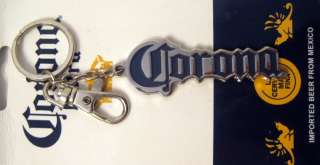 Corona Extra Beer Cerveza Logo Car Auto House Metal Key Chain Ring FOB