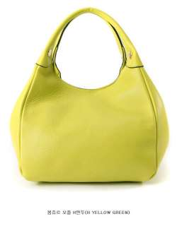 Brilliant Colors High Quality Real Leather Shopper Bag & Tote Bag
