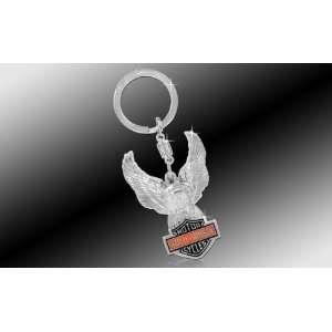 com Harley Davidson Car Truck SUV Key Chain Metal   Eagle w/ Colored