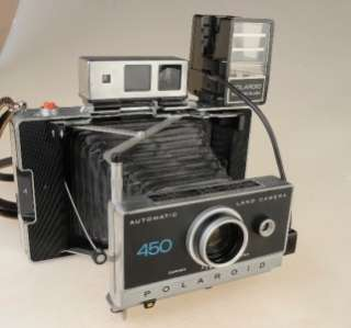 POLAROID 450 LAND CAMERA WITH ZEISS VIEWFINDER