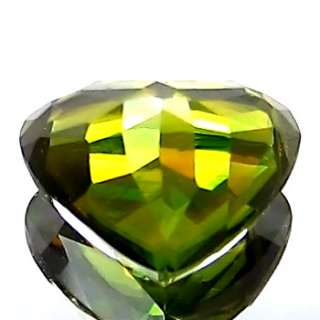 77ct ULTRA RARE NATURAL EARTH MINED COLOR CHANGE AAA GREEN SPHENE