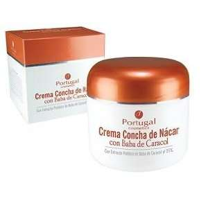 Portugal Crema de Concha de Nacar con Baba de Caracol 4oz   Mother of
