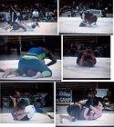 REAL FIGHT UFC STYLE COMPETITIVE FEMALE WOMEN WRESTLING