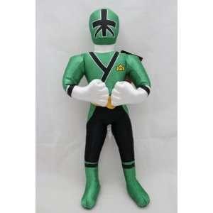 Rangers Samurai Green Action Figure Plush Doll   MIKE