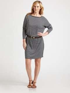 MICHAEL MICHAEL KORS, Salon Z   Striped Jersey Dress