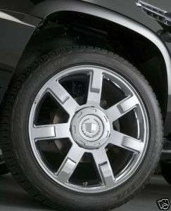 NEW OEM Style Cadillac Escalade 22 Chrome WHEEL Used 65% Goodyear TIRE
