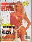WWE WWF RAW Divas Female Wrestling Mag SABLE/Jackie Poster 11 98