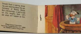 1930s MICKEY MOUSE MOVING PICTURE FLIP BOOK DONALD DUCK DISNEY