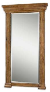 Oversized Full Length Floor Wood Framed Mirror
