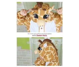 Character Costume Cosplay Halloween Party Pajama *Giraffe* NEW