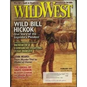 Wild West Magazine (Wild Bill Hickok cover & feature) (Grays Harbor