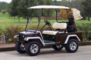 GOLF CART BODY KIT/CUSTOM CLUBCAR DS/YAMAHA FRONT ONLY