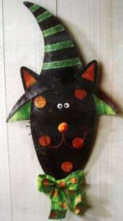 SILVESTRI Cat Hanger Black Cat HALLOWEEN Peri 20075133