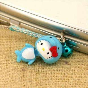 Brand New Lovely Cell Phone Strap Charm   Hello Kitty HK476