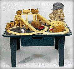 Wooden Toy Train and Table Plans, children S