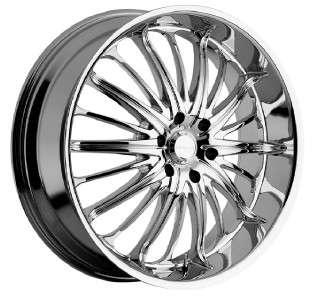 28 inch Akuza belle chrome wheels rims Tahoe Avalanche Suburban Yukon