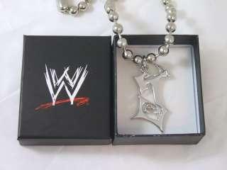 JEFF HARDY J Logo WWE Pendant  & Box