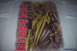 IRON MAIDEN Killers NEW All Over T SHIRT 2XL