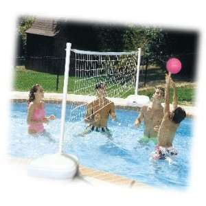 Dunnrite AquaVolly Swimming Pool Volleyball Set Toys & Games