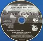 2007 2008 2009 2010 Cadillac DTS Navigation DVD Rom Map