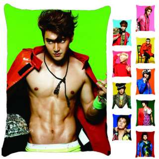 All Super Junior 10 Members Siwon Choi MR SIMPLE Pillow Case (10