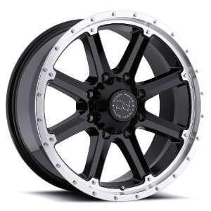 (Gloss Black w/ Machined Lip) Wheels/Rims 8x170 (2090MAB 28170B25