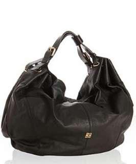 Givenchy black leather large Hobo shoulder bag