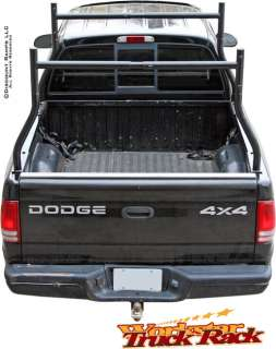 Pickup Truck Rack Top View