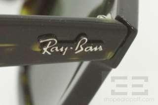 Ray Ban Dark Brown Tortoiseshell Wayfarer Square Sunglasses RB 2151