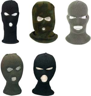 FULL Face Military Cold Weather Winter SKI MASK Acrylic
