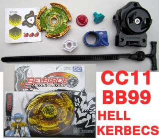 HELL KERBECS US Rip Launcher Battle Beyblade Metal Fusion Toy