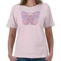 Serenity Prayer Butterfly 2 T Shirt by Recovery